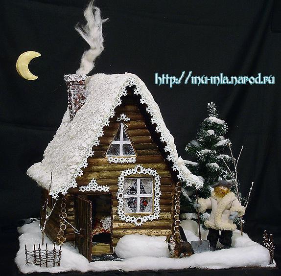 Сказочный домик к новому году